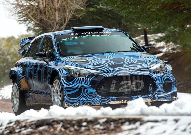 Hyundai nasadí novou i20 WRC do MS rallye příští rok