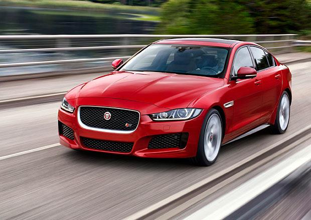 Jaguar zahájil výrobu nového sedanu XE