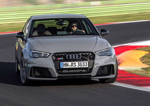 Fotogalerie: Nové pětiválcové Audi RS 3 Sportback na okruhu