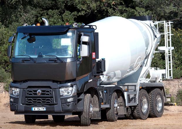 Renault Trucks: Novinka pro domíchávače betonu