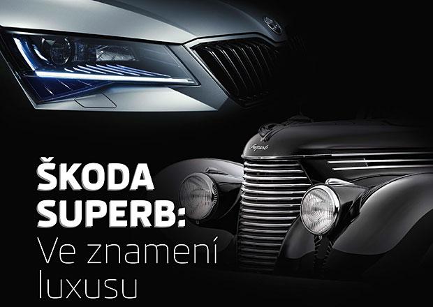 Škoda Superb: Výstava historických modelů ve Škoda Muzeu