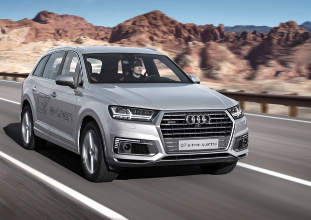 Audi A6 L e-tron a Q7 e-tron 2.0 TFSI quattro: Dva hybridn� speci�ly pro Asii