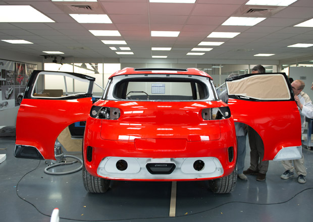 Citroën poodhalil vývoj a výrobu konceptu Aircross (+video)