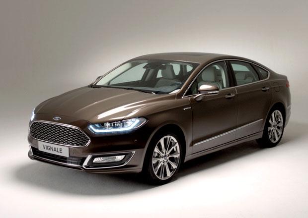 Ford Mondeo Vignale: První sériový zástupce luxusní divize