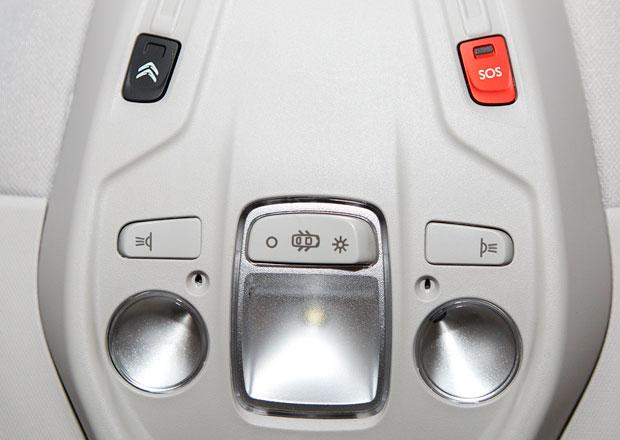 Citroën Grand C4 Picasso 2.0 BlueHDi: Nouzové volání a servisní volání e-Call