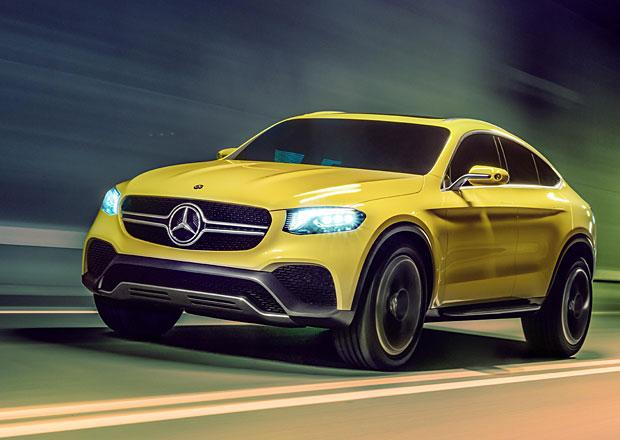 Mercedes-Benz Concept GLC Coupe: Odpověď na BMW X4 jako studie
