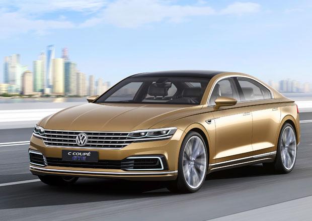 Volkswagen C Coupe GTE Concept: Velký sedan pro Čínu