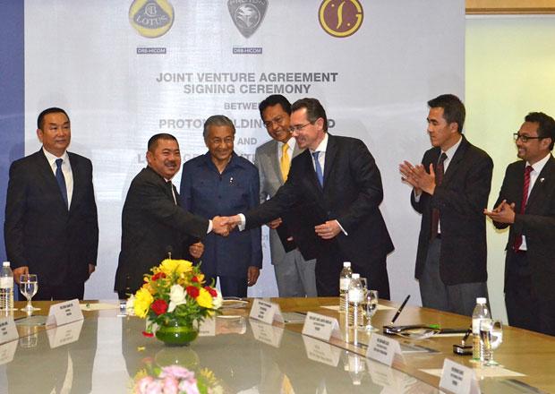 Lotus, Proton a Goldstar jsou ofici�ln� partnery