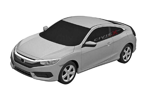 Podobu Hondy Civic X odhaluj� patentov� n�kresy