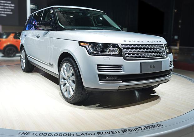 Land Rover slaví výrobu 6 milionů aut