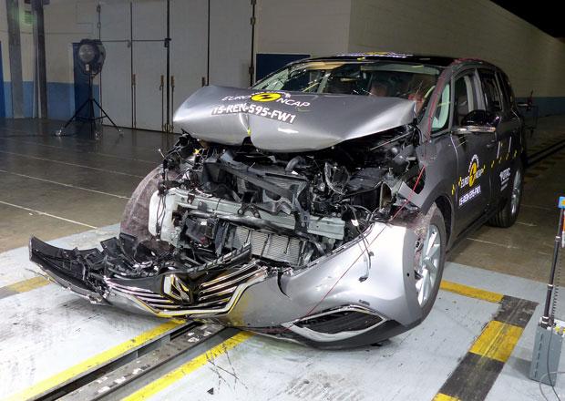 Euro NCAP 2015: Renault Espace – Pět hvězd