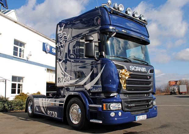 Scania R730 V8 pro společnost Parotrans