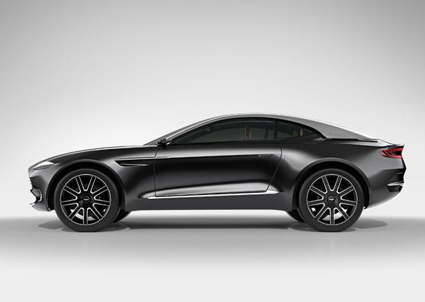 Aston Martin DBX: Chystaný crossover by se mohl vyrábět v USA