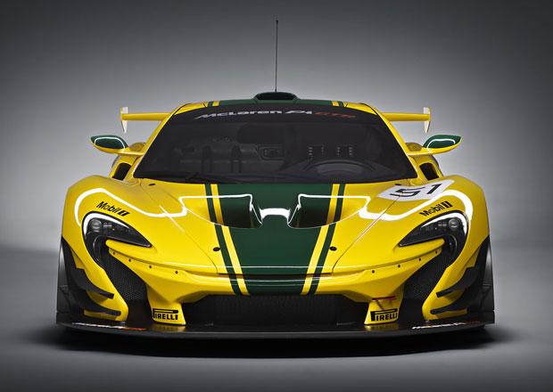 Lanzante chce zlegalizovat McLaren P1 GTR pro silni�n� pou�it�