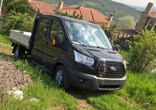 Dodávková vozidla 4x4: Ford