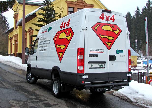 Dodávková vozidla 4x4: Iveco