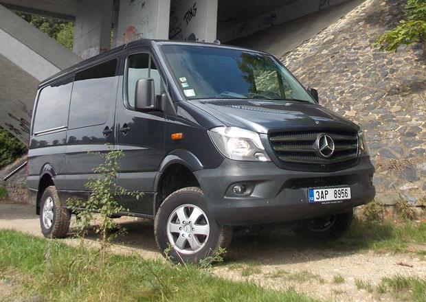 Dodávková vozidla 4x4: Mercedes-Benz