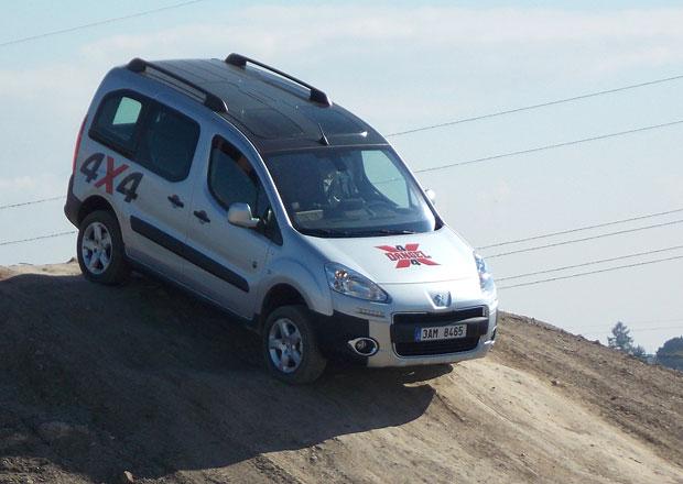 Dodávková vozidla 4x4: Peugeot