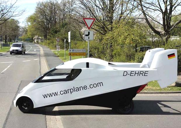 Carplane: Nový příspěvek mezi létající auta