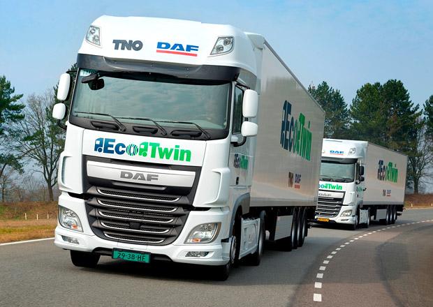 DAF a TNO představují projekt EcoTwin (+video)