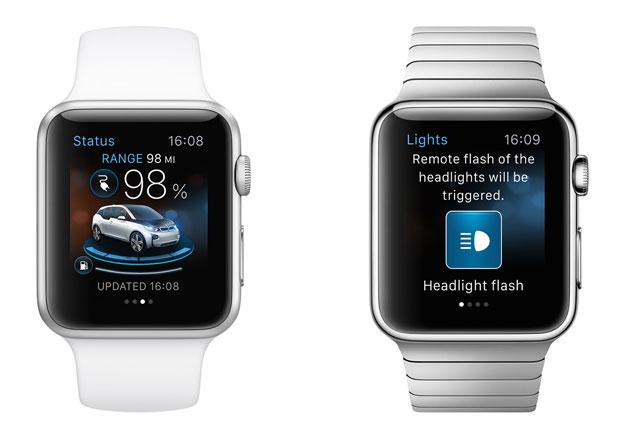 Aplikace pro chytré hodinky umožní ovládat automobily na dálku