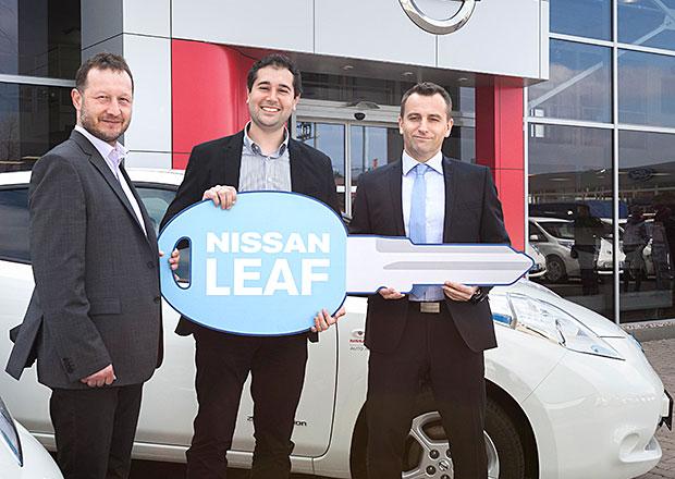 Nissan Leaf: Flotila 19 aut je na silnici