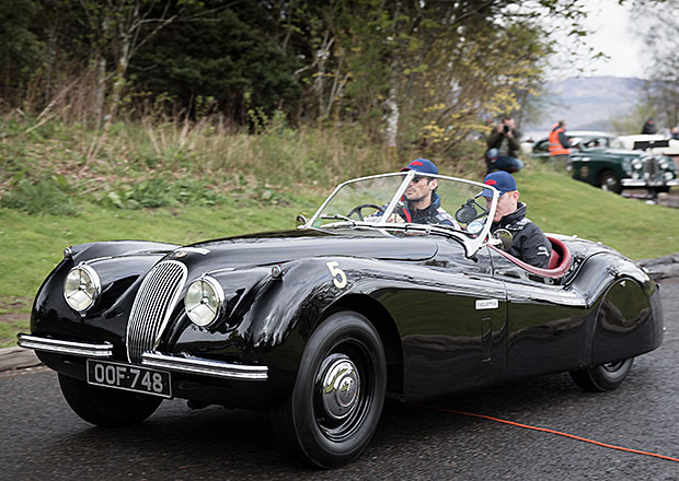 Jaguar Heritage pořádal Mini Miglia (+video)