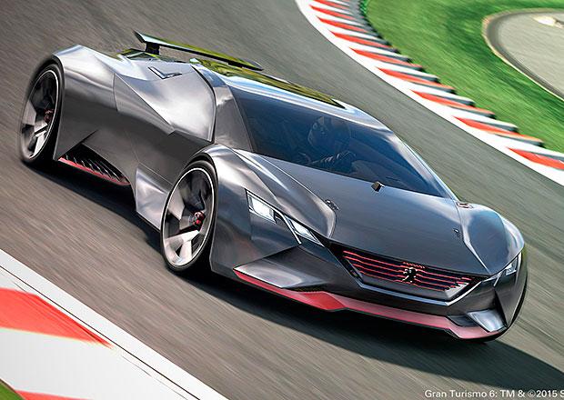 Peugeot Vision Gran Turismo: Zrychlení z nuly na 100 km/h za 1,73 sekund (+video)