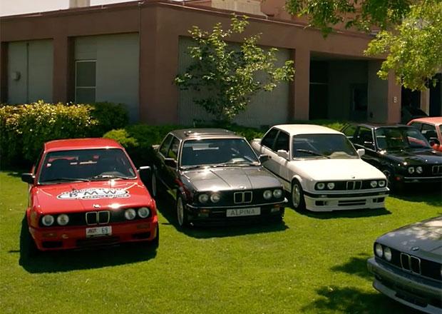 BMW řady 3 slaví čtyřicítku (video)