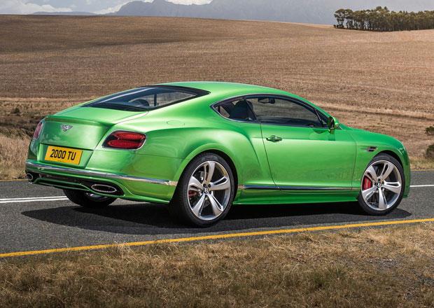 Bentley Continental GT: Nové kupé s okřídleným B v roce 2017