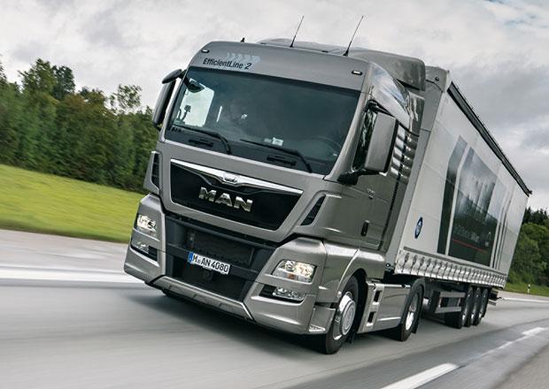 MAN TGX EfficientLine 2 nabízí další snížení spotřeby paliva