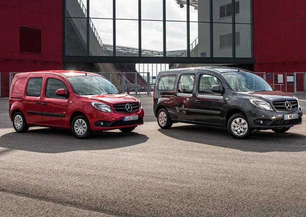 Mercedes-Benz Citan: Motory Euro 6 a nové prvky výbavy