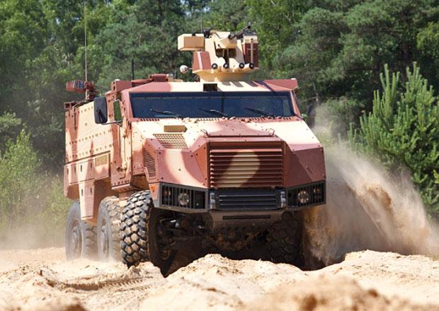 Tatra na IDET 2015 představí obrněné vozidlo Titus