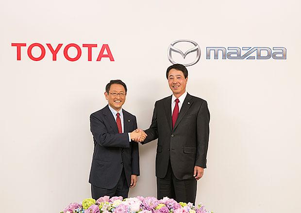 Mazda a Toyota potvrzují spolupráci voblasti techniky