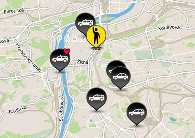 Hopin Taxi: Nov� mobiln� aplikace zprost�edkov�v� odvoz po Praze
