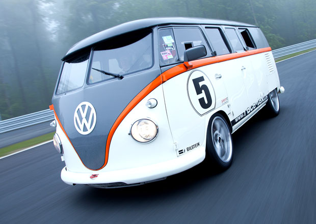 Volkswagen T1 Race Taxi: Závodní expres s boxerem Porsche