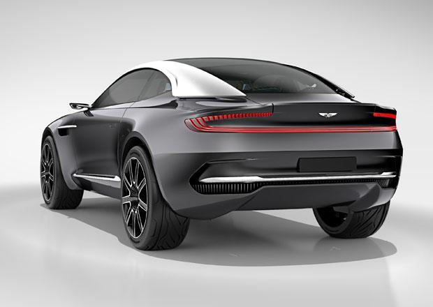 Platforma Mercedesu není dost sportovní pro Aston Martin DBX