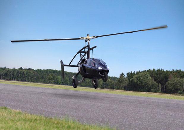 PAL-V: Pojízdný vírník má 170 kW a stojí 500.000 eur (2x video)