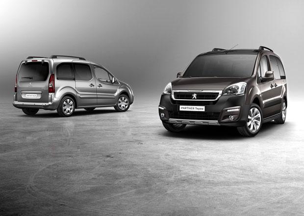 Modernizovaný Peugeot Partner Tepee a Furgon: Ceny na českém trhu