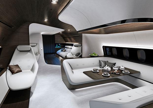 Mercedes-Benz bude navrhovat kabiny letadel