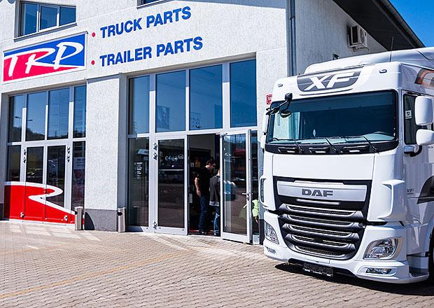 DAF Trucks: Prvn� TRP Shop v �esk� republice