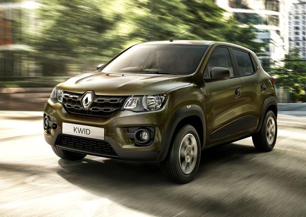 Renault Kwid: Premiéra sériového globálního SUV v minibalení