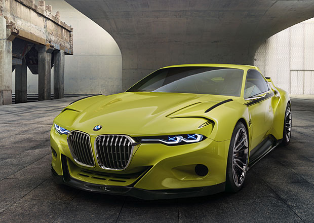BMW 3.0 CSL Hommage: Batmobile v moderním pojetí