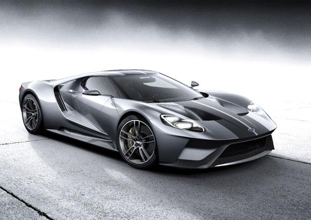 Ford začal testovat závodní verzi modelu GT pro Le Mans