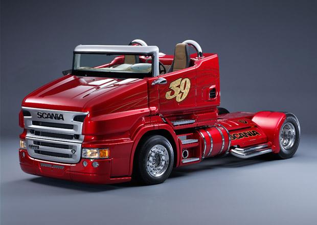 Scania Red Pearl R 999 od Svempas v miniaturním provedení (+video)