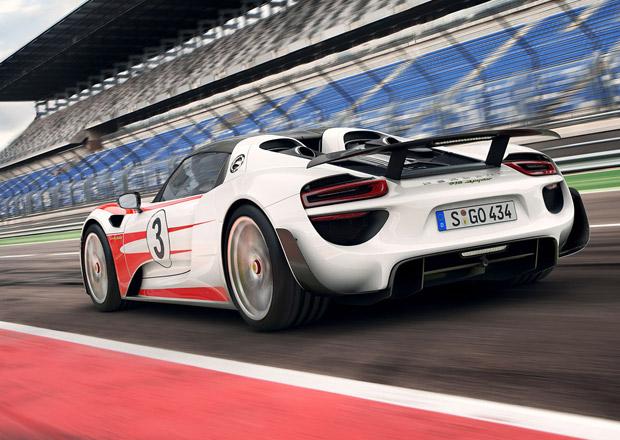 Porsche vyhlašuje už třetí svolávací akci na 918 Spyder