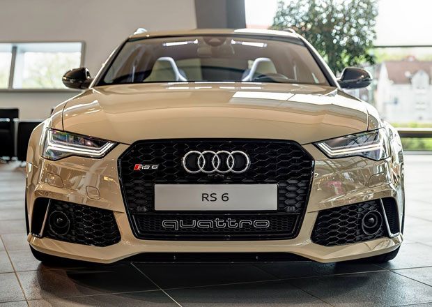 Audi RS 6 Avant Exclusive v barvě Mocha Latte: Béžový expres