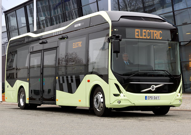 Volvo Buses demonstruje v�hody elektrick�ho autobusu (+video)