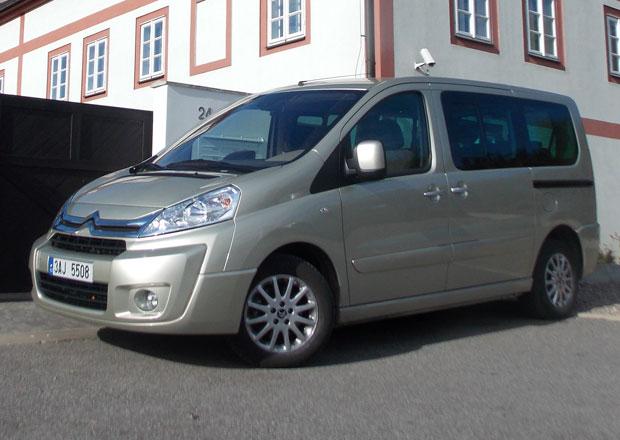 Citroën Jumpy Multispace L2H1 2.0 HDI: Top verze