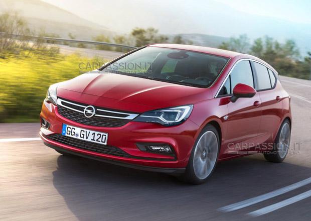 Nový Opel Astra odhalen díky úniku oficiálních fotografií